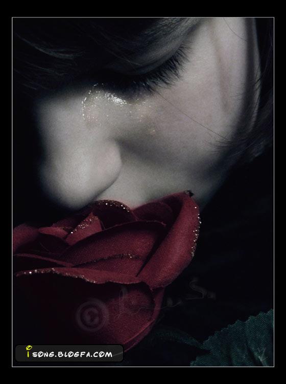 اشک بی کسی...